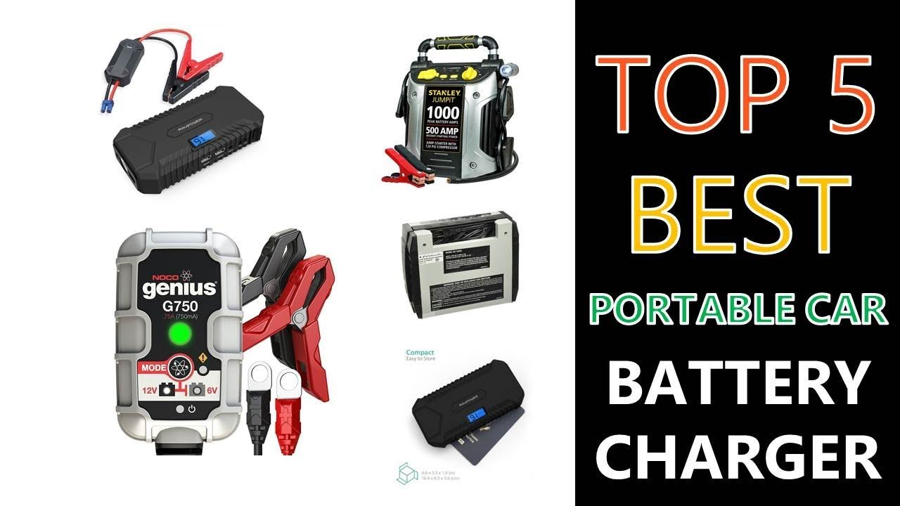 Best Portable Car Battery Charger